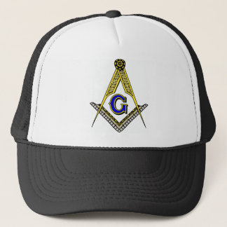 Compass and Square Trucker Hat