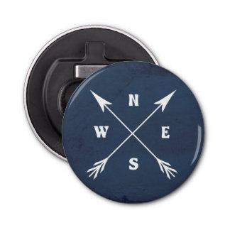 Compass arrows bottle opener