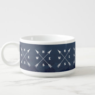 Compass arrows bowl