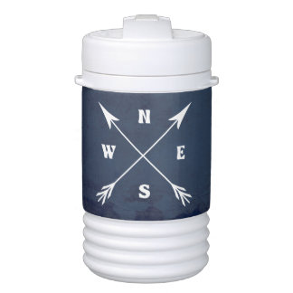 Compass arrows cooler