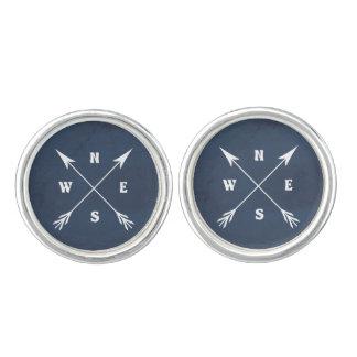 Compass arrows cufflinks