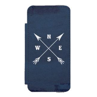 Compass arrows incipio watson™ iPhone 5 wallet case