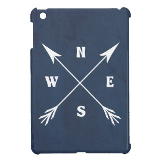 Compass arrows iPad mini case