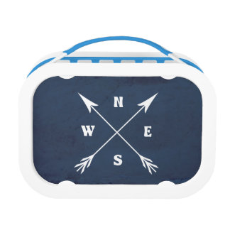 Compass arrows lunch box