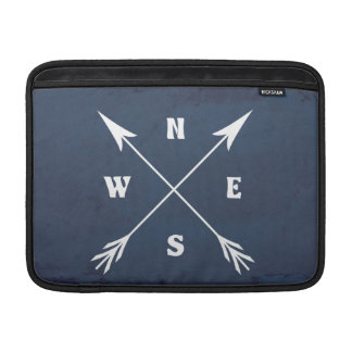 Compass arrows MacBook sleeve