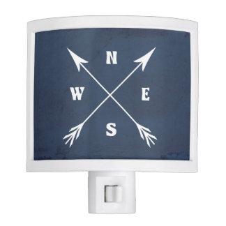 Compass arrows night lights
