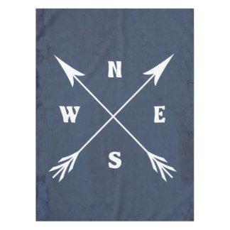 Compass arrows tablecloth