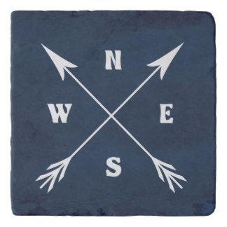 Compass arrows trivet