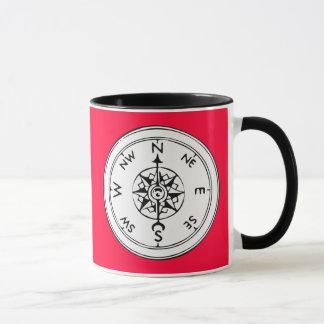 Compass Art Mug