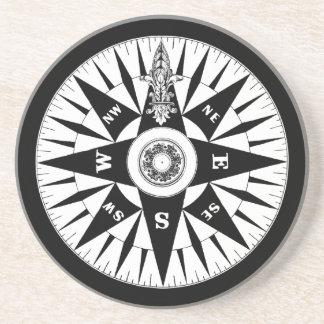 Compass Coaster