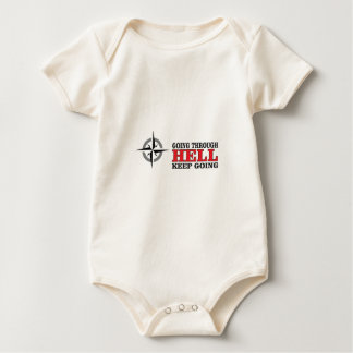 compass hell passage baby bodysuit