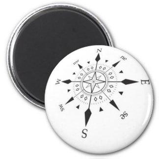 compass refrigerator magnet