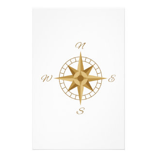Compass Navigation Stationery