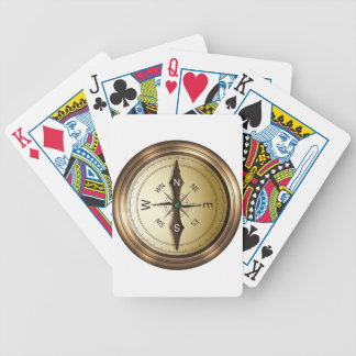 Compass North South East West Bicycle Playing Cards