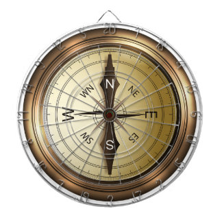 Compass North South East West Dartboard