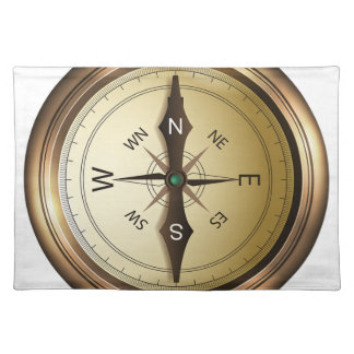Compass North South East West Placemat