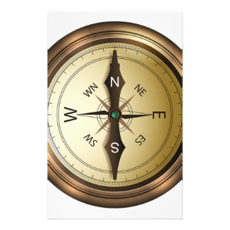 Compass North South East West Stationery