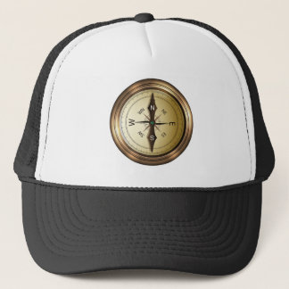Compass North South East West Trucker Hat