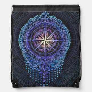 Compass of your Soul Drawstring Bag