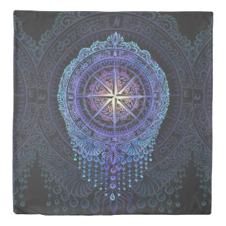 Compass of your Soul Duvet Cover