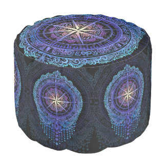 Compass of your Soul Pouf