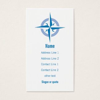 Compass Rose Business Card