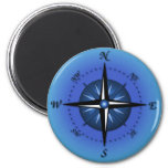 Compass Rose Magnets