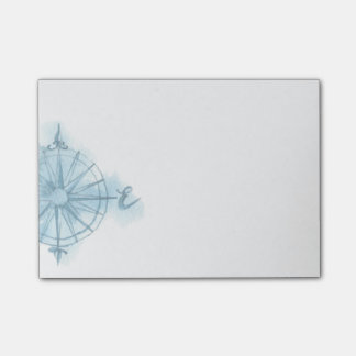 Compass Rose Post-it Notes