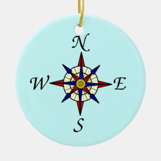 Compass Rose Tree Ornament
