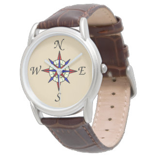 Compass Rose Watch