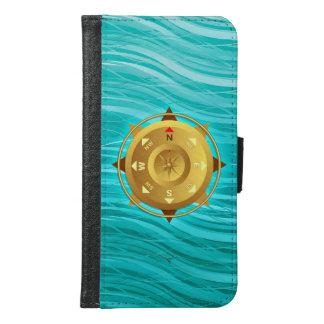 Compass Samsung Galaxy S6 Wallet Case