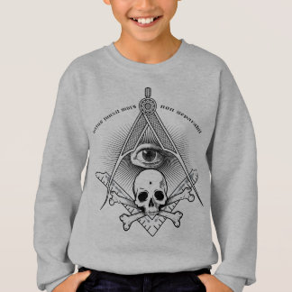 compass & Square for the modern Master Mason Sweatshirt