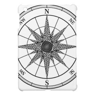 Compass Vintage Rose iPad Mini Case