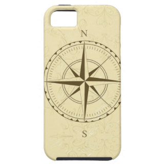 compass vintage south west east iPhone 5 cover
