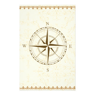 compass vintage south west east stationery