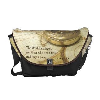 Compass World Travel Map Commuter Bags