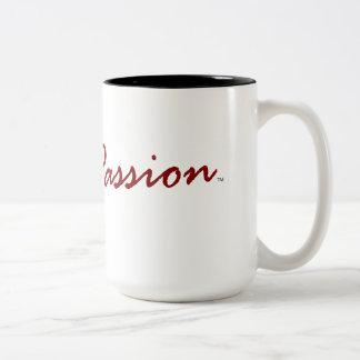 ComPASSION (15oz 2-Tone Mug) Two-Tone Coffee Mug