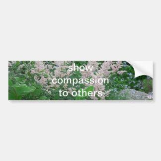 Compassion Autocollant De Voiture