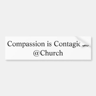"""Compassion is Contagious @Church"" Sticker"