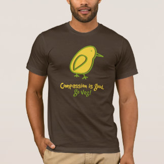 Compassion Is Good. Go Veg. T-Shirt