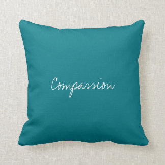Compassion Virtue Decorated Cushion Pillow