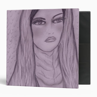 Compassionate Mary in Purple Vinyl Binder