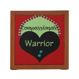 Compassionate Warrior Desk Organizers