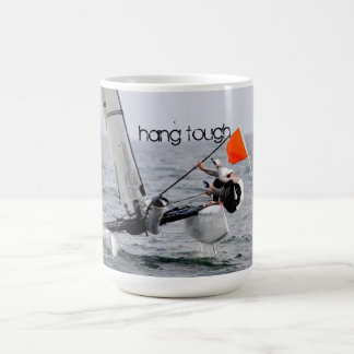 Competition Sailing Catamaran Picture Classic White Coffee Mug
