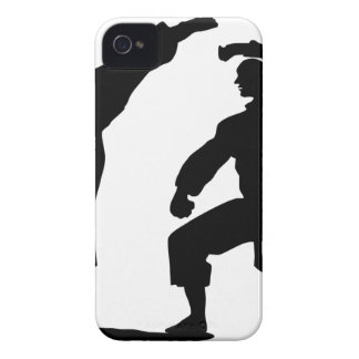 competitive athlete black iPhone 4 cases