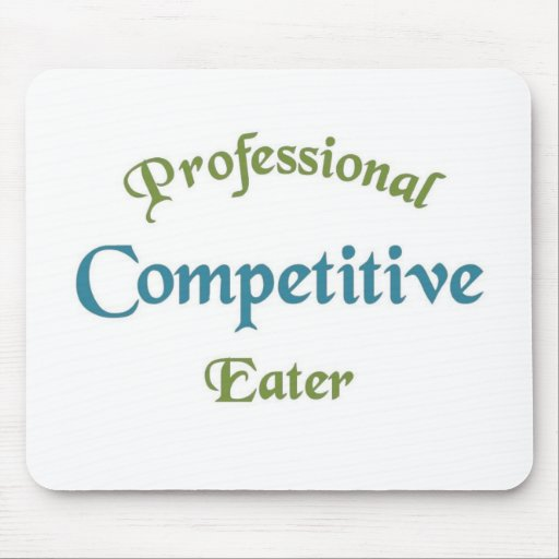 Competitive Eater Mousepads