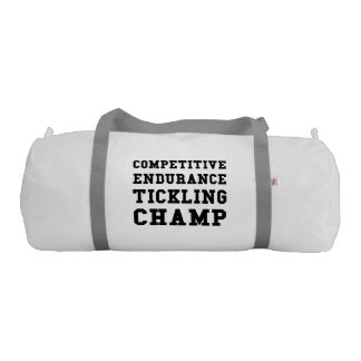 Competitive Endurance Tickling Champ Gym Bag