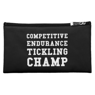 Competitive Endurance Tickling Champ Makeup Bag