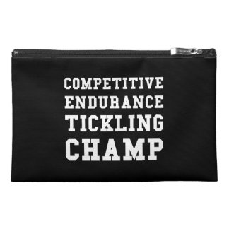 Competitive Endurance Tickling Champ Travel Accessory Bag