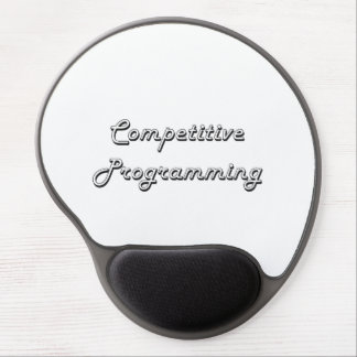 Competitive Programming Classic Retro Design Gel Mouse Pad